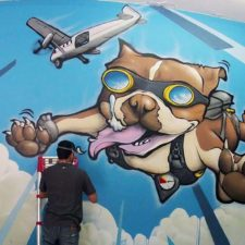 PAW POWER! Mural project at Oakland Animal Services
