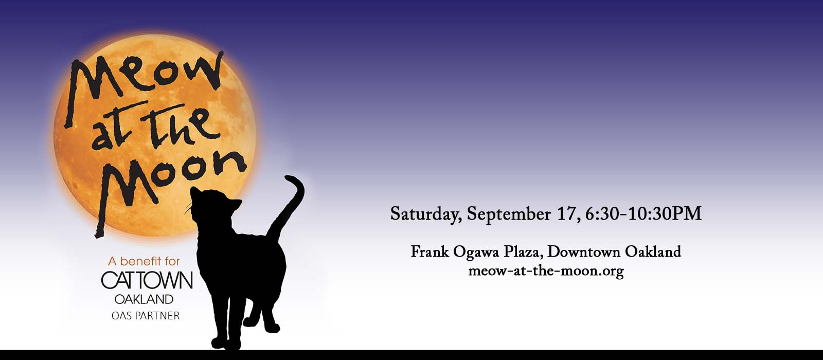 Meow at the Moon: a benefit for Cat Town Oakland