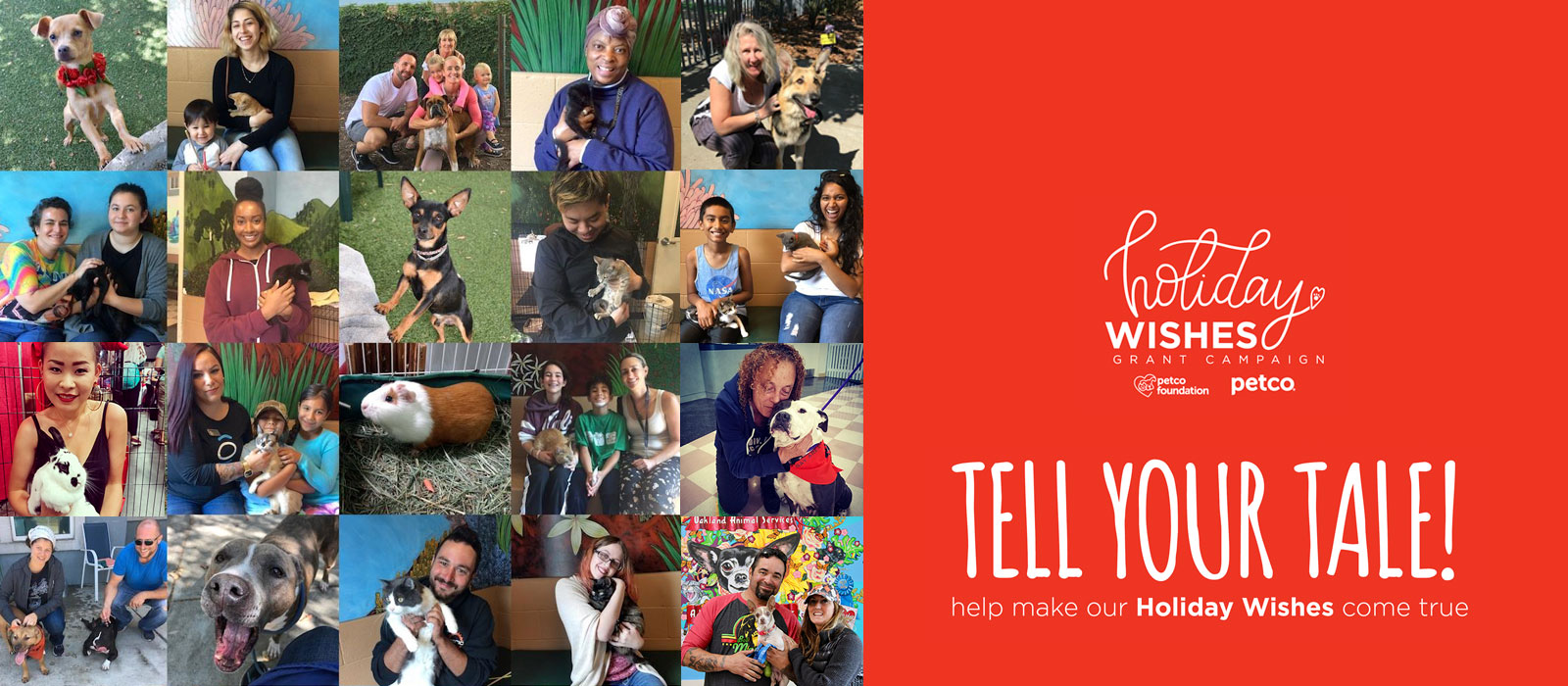 Share YOUR story! Win a Petco shopping spree and help us win $100k!