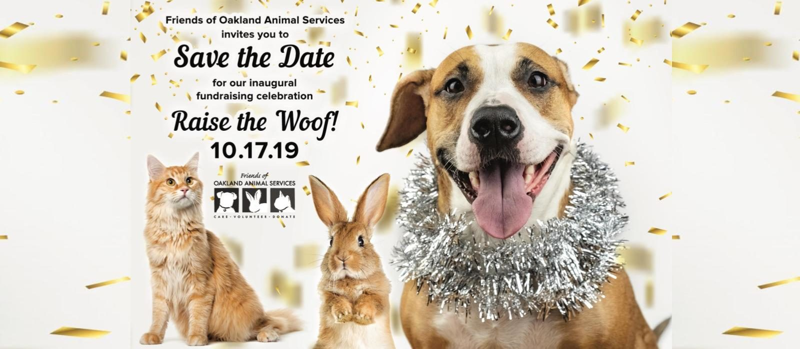 Come Raise the Woof with Oakland Animal Services!