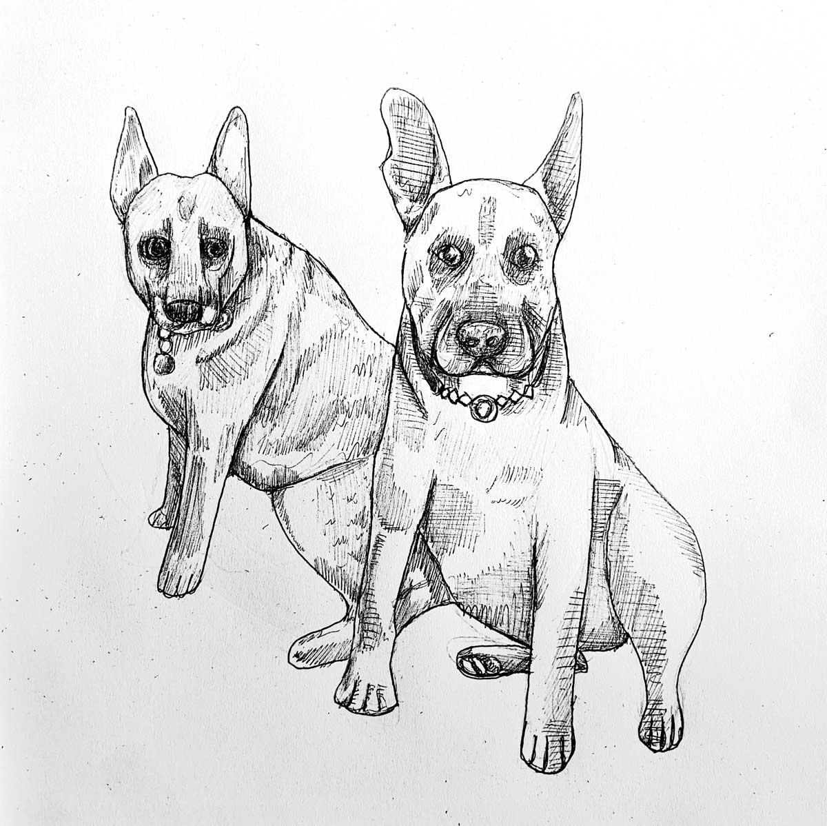 2-Dogs-Art