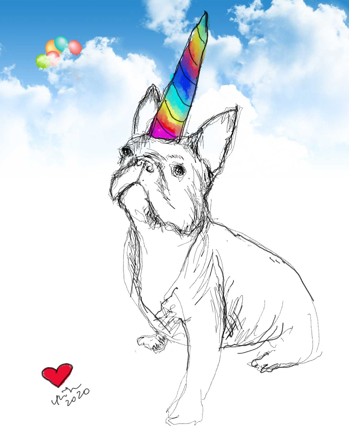 French-Bulldog-Art