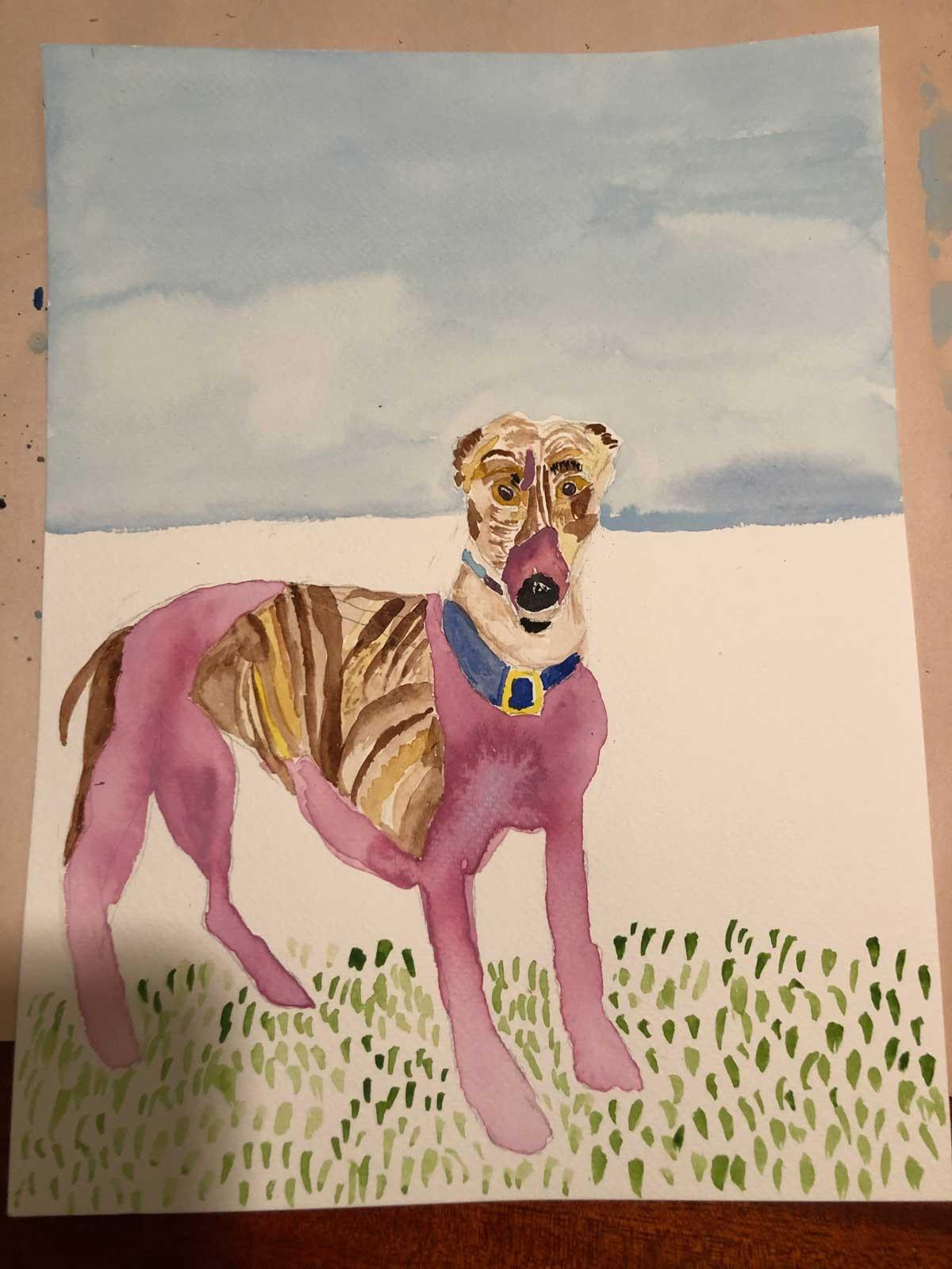Greyhound-Art