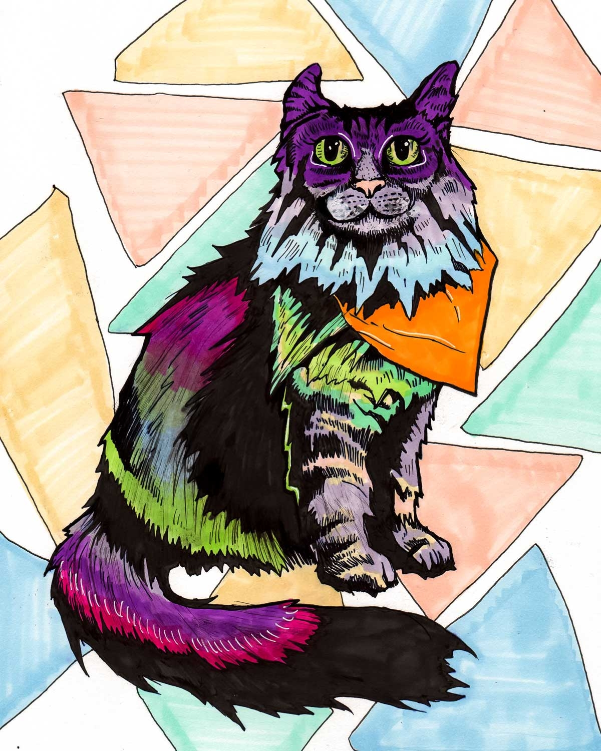 Tabby-Cat-Art