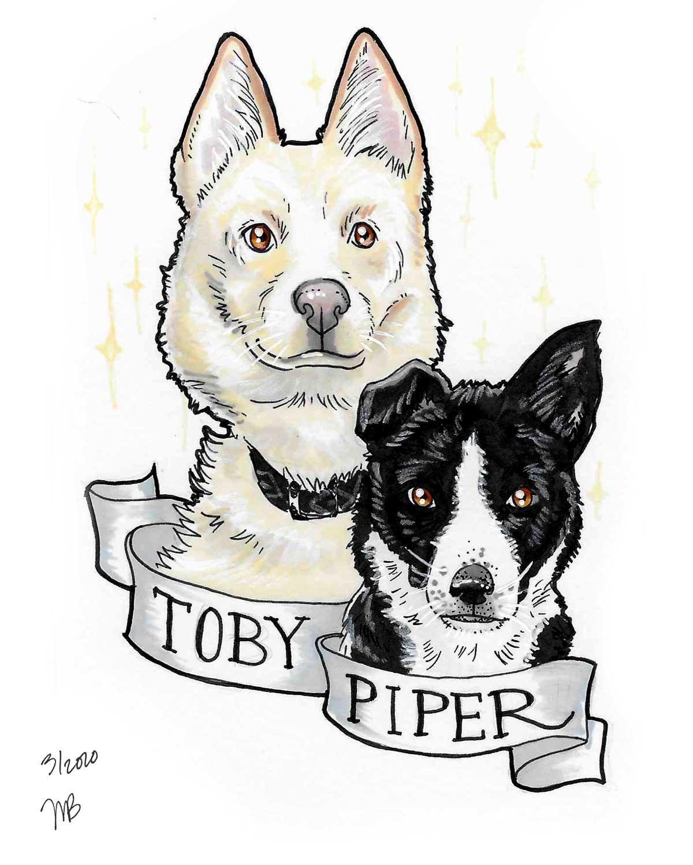 Toby-_-Piper-Art